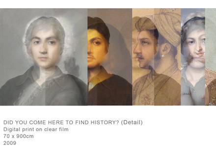 Nusra Latif Qureshi, Did you come here to find history, 2009