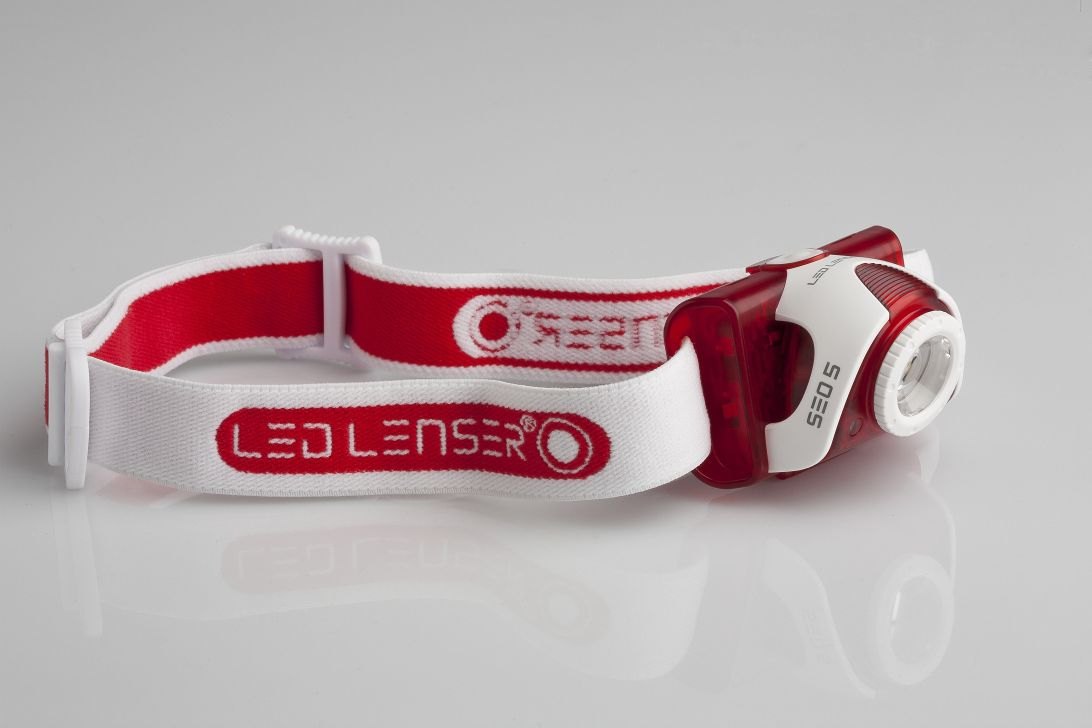 LEDLENSER RED Lichtleistung leicht gemacht (LED Stirnlampelampen Produkttest)