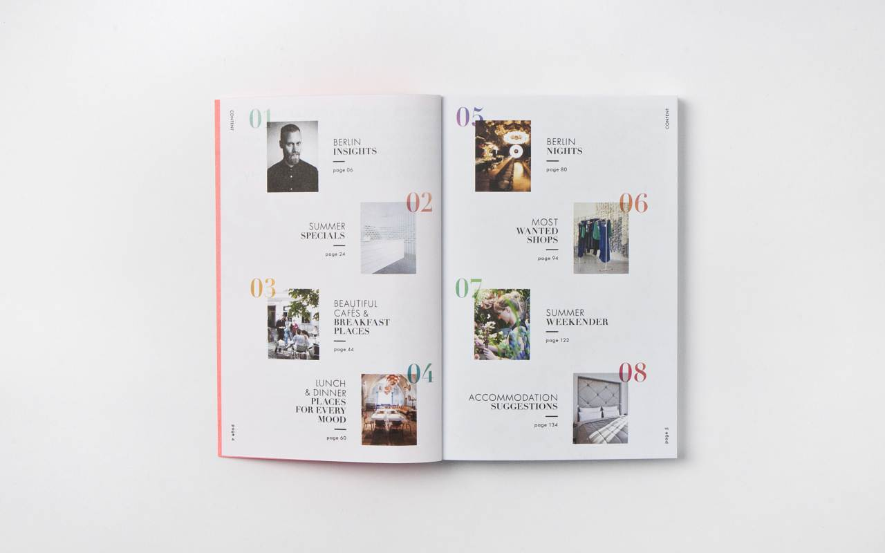 Berlin Inspires Summer Issue 2013_Content