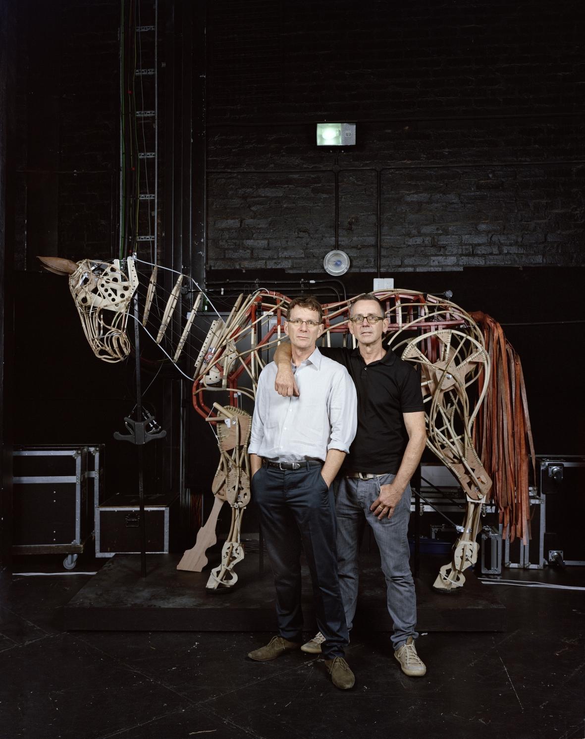 Adrian Kohler und Basil Jones ©Pieter Hugo