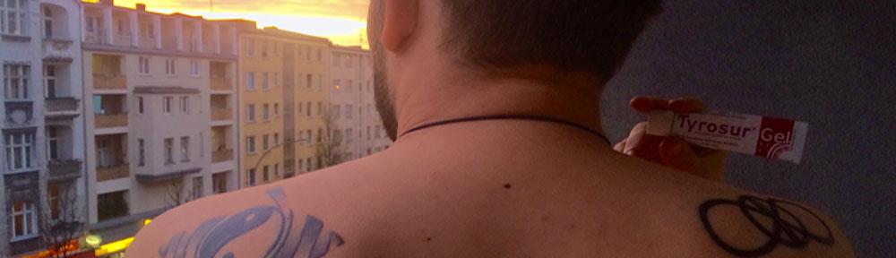 Berlinspiriert-Lifestyle-Tattoopflege-mit-Tyrosur-Wundheilgel-header-2