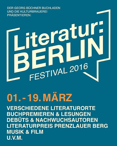 Berlinspiriert Literatur BERLIN 2016_LB2016_flyer_petrol