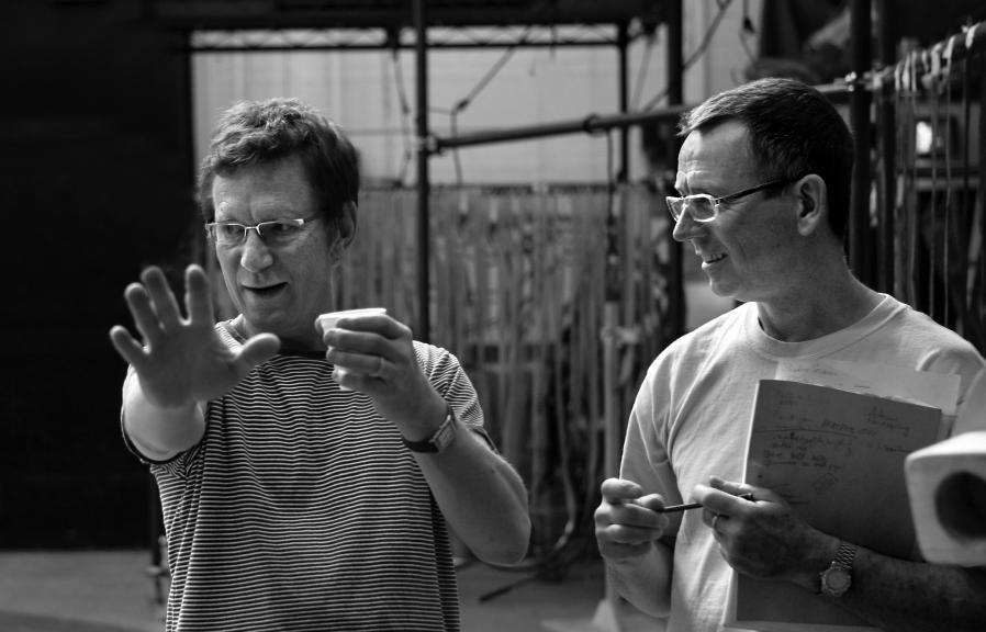 Adrian Kohler und Basil Jones ©Simon Annand